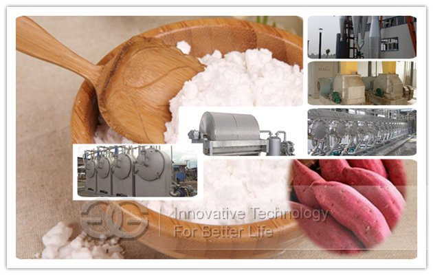 Sweet Potato Starch Production Plant
