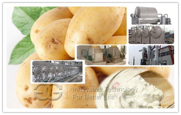 Potato Starch Production Line