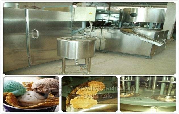 Automatic Crisp Waffle Bowl Cones Machine|Bowl Shape Cones Making Machine