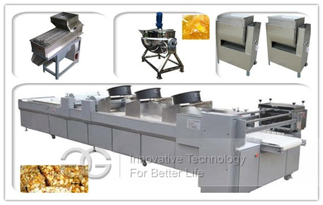 Peanut Brittle Machine|Groundnut Chikki Machine