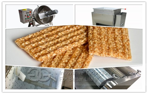 Sesame Bar Forming Machine|Sesame Candy Production Line
