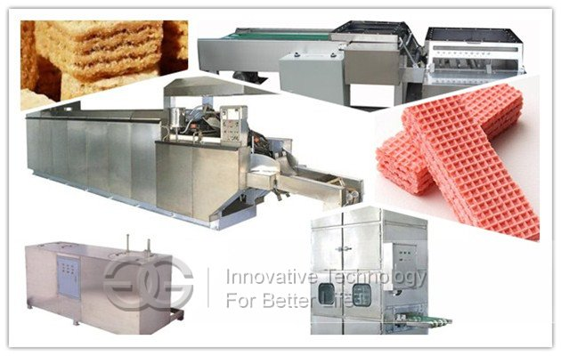 Wafer Biscuit Production Line 27 Moulds