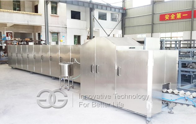 Ice Cream cone s Baking Plant|Ice Cream Waffle cone s machine