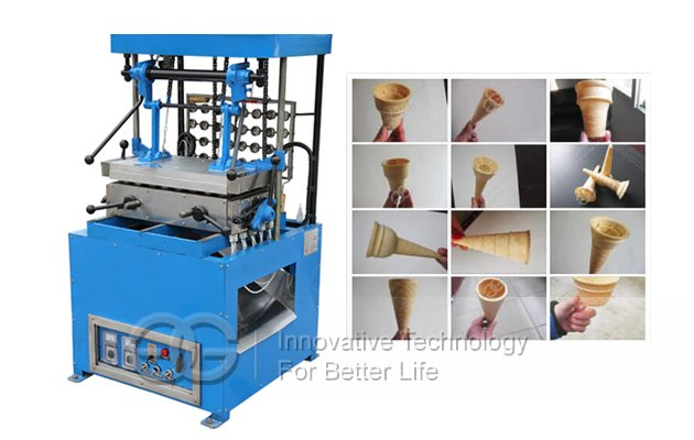 Wafer Ice Cream Cone Machine - Can Be Changed Moulds