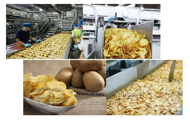 Automatic Compound Potato Chips Machine|Potato Crisps Production Line