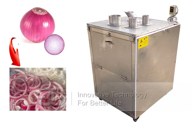 Onion Ring Cutting Machine|Commercial Onion Slicing Machine