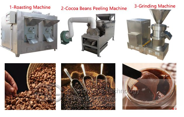Cocoa Beans Roasting Grinding Machine|Cocoa Beans Processing Equipment
