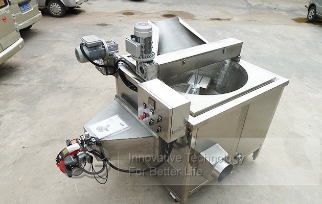 Stainless Steel Snack Fryer|Namkeen Fryer|Chips Fryer Machine