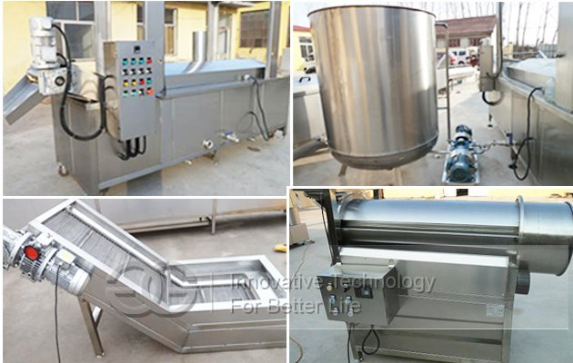 Fried Peanut Processing Line|Groundnut Frying Line