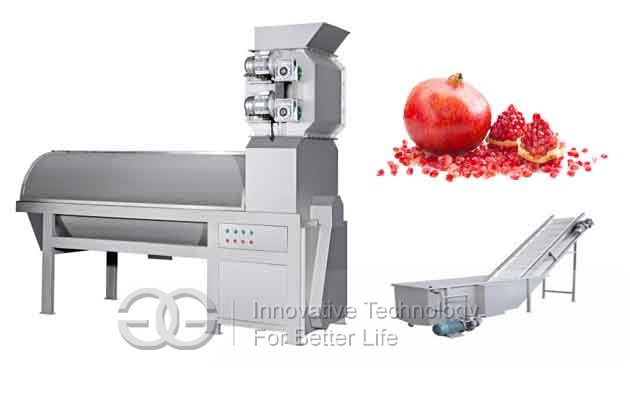 Automatic Pomegranate Peeling Machine|Pommegranets Deseeder Separator Machine