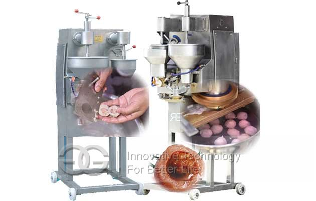 Automatic Stuffed Meat Balls Making Machine