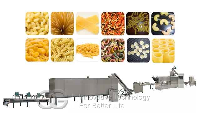 Commercial Pasta and Macaroni Making Machine