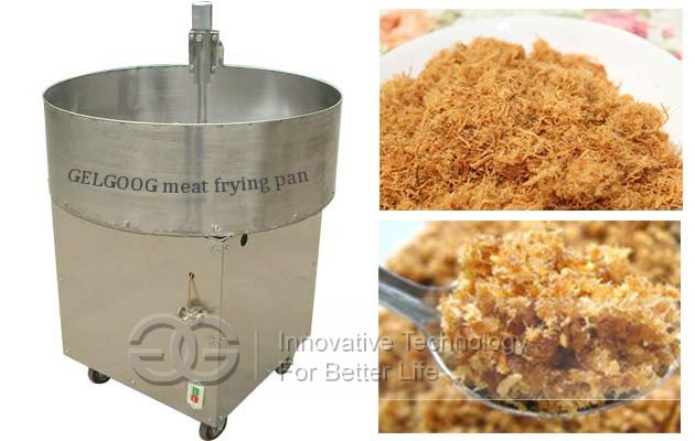 Automatic Beef Meat Floss Making Machine