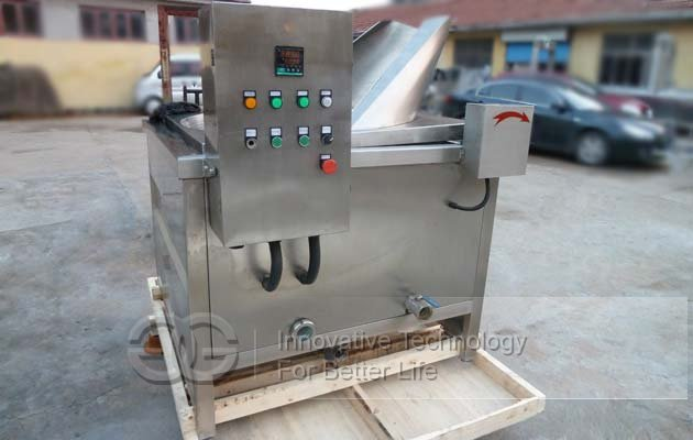 Snacks Chips Frying Machine|French Fry Chin Chin Round Fryer Machine Price