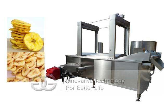 Automatic Plantain Chips Batch Fryer|Banana Chips Frying Machine