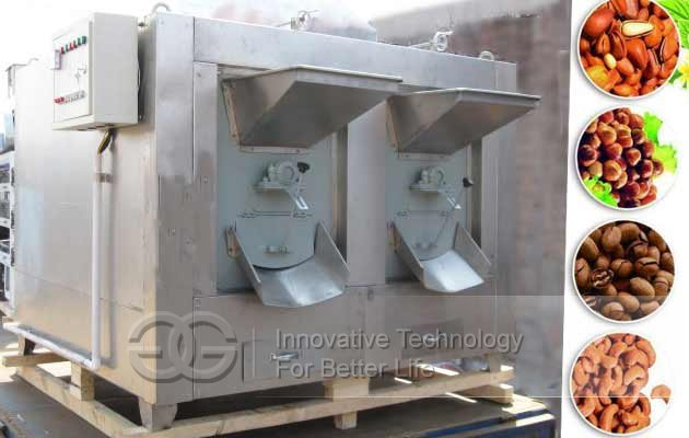 Multi-purpose Dry Nuts Seeds Beans Roasting Machine