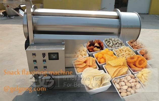 Plantain Chips Seasoning Machine|Namkeen Flavoring Machine