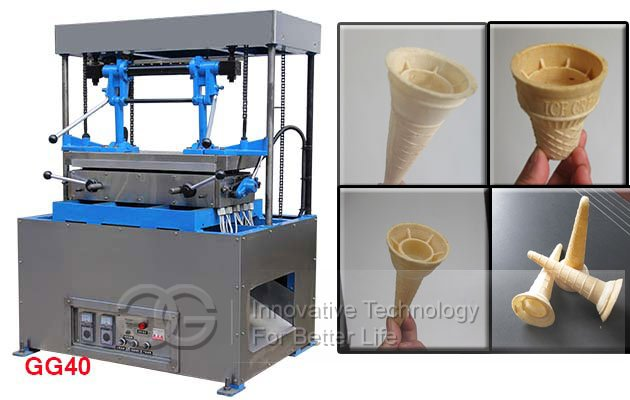Ice Wafer Cones Making Machine GG40