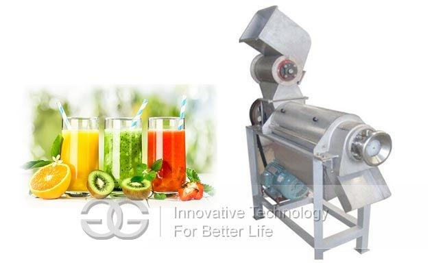 Fruit Crushing Juice Extraction Machine|Ginger Juicer Making Machine