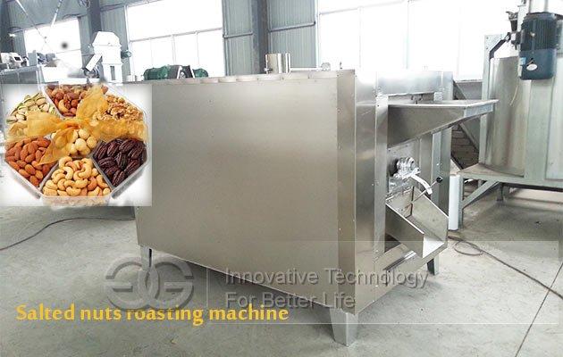 Salted Nuts Roasting Machine Nuts Roasting and Salting Machine