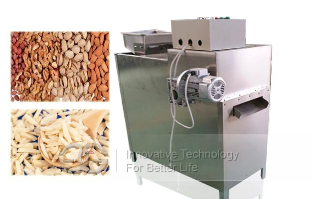 Multi-functional Almond Badam Slivering Machine|Nuts Strip Cutting Machine