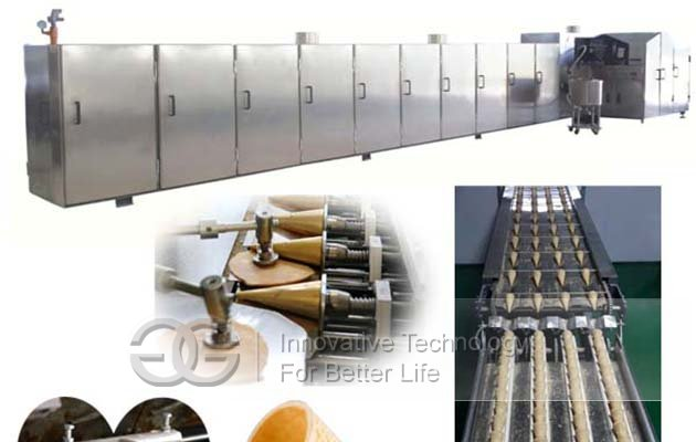 Ice Cream Cone Production Line|Wafer Cone Production Line