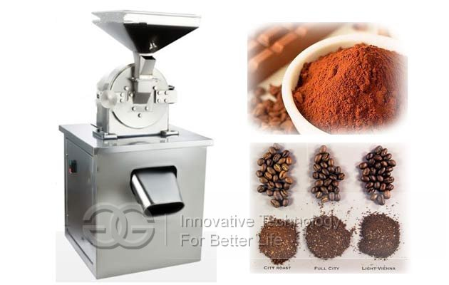 Stainless Steel Cocoa Bean Powder Grinder Machine|Cacao Powdering Machine