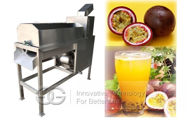Professional Passion Fruit Juice Extraction Machine|Passion Fruit Pulping Machine