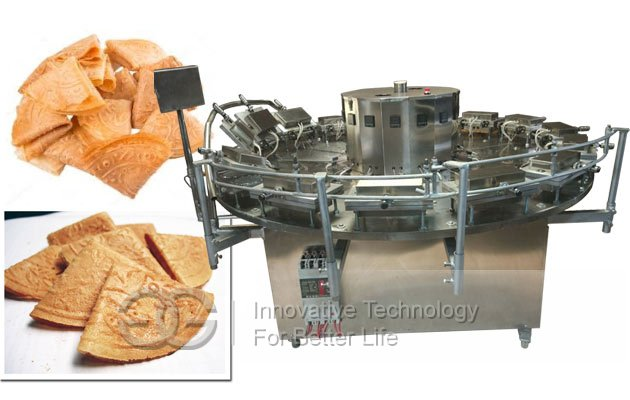 Kuih Kapit Baking Machine|Kapit Cake Making Machine