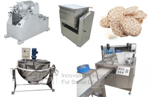 Puffed Rice Cakes Machine|Rice Krispies Treat Machine