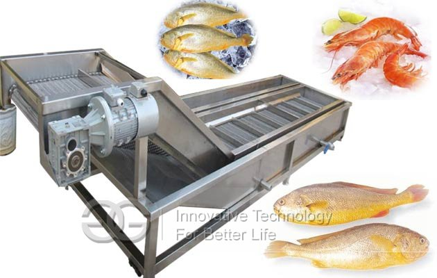 Automatic Fish Ice Glazing Machine|Seafood Ice Covering Machine
