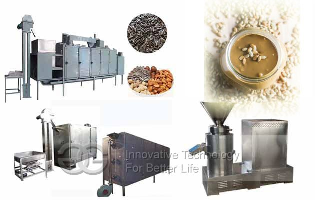 Sunflower Seeds Butter Production Line|Sunflower Butter Making Machine