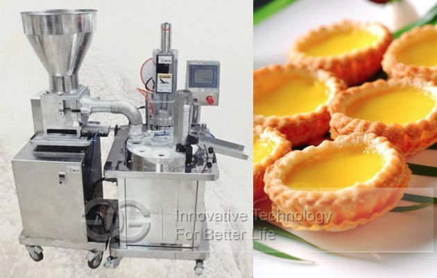 Automatic Egg Tart Shell Maker Machine|Tartless Press Machine