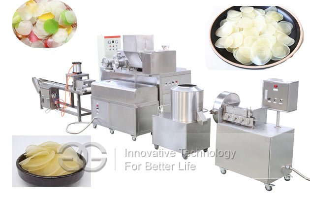 Prawn Cracker Making machine |3D Pellet chips Kerupuk Udang Production Line