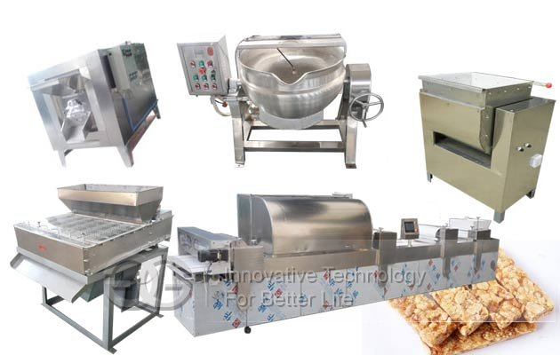 Peanut Candy Bar Processing Plant|Groundnut Chikki Making Machine
