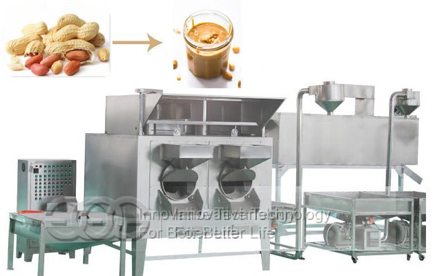 Peanut Butter Production line|Automatic Groundnut Paste Making Machine