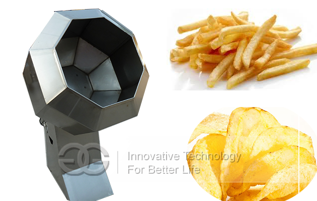 Potato chips Flavoring machine |Snack Namkeen Flavoring machine
