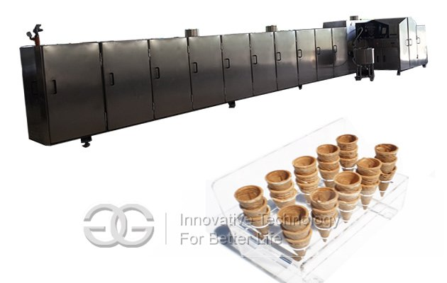 automatic ice cream cones production line