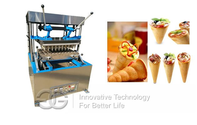 pizza cones making machine