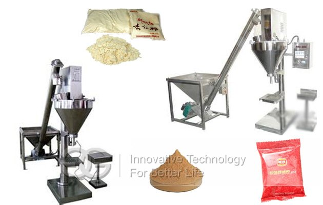 Semi-automatic Quantitative Powder Packing Machine For Sale