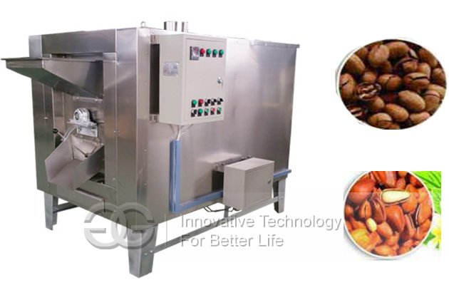 Drum Type Cocoa Bean Roasting Machine|Coffee Beans Roaster Equipment