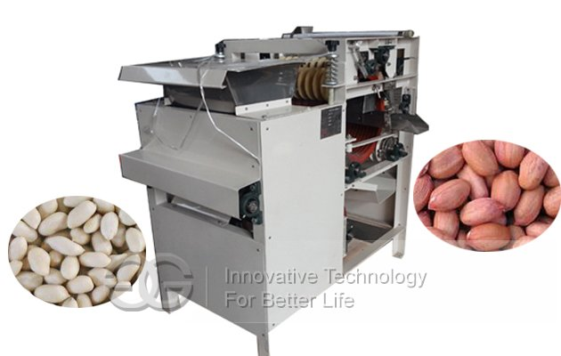 badam wet peeling machine