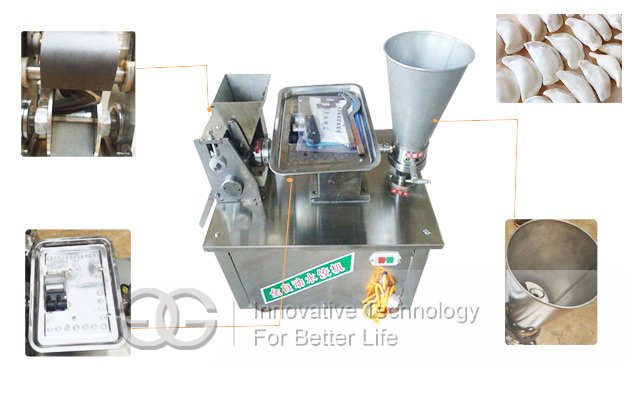 Automatic Chinese Dumplings Making Machine|Samosa Wonton Making Machine