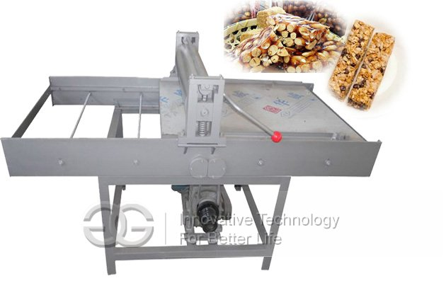 Semi-automatic Peanut Brittle Forming and Cutting Machine|Peanut Brittle Cube Cutter
