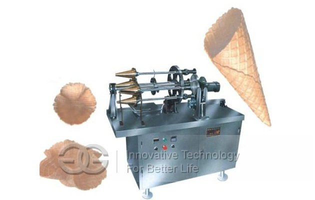 Ice Cream Cone Baking And Rolling Machine|Ice Cream Cones Making Machine
