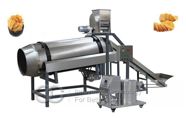 Single-Drum Flavoring Line|Drum Seasoning machine Line