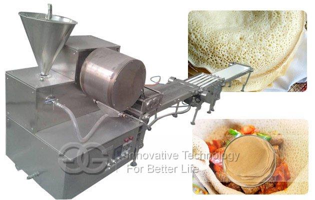 Commercial Injera Machine|Samosa Pastry Sheet Lumpia Wrapper Machine