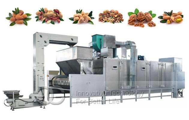 Continuous Soybean Roasting Machine|Automatic Roaster Machine