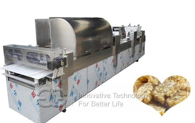 GG-600T CE Approved Commercial Automatic Peanut Brittle Making Machine With Air Condition