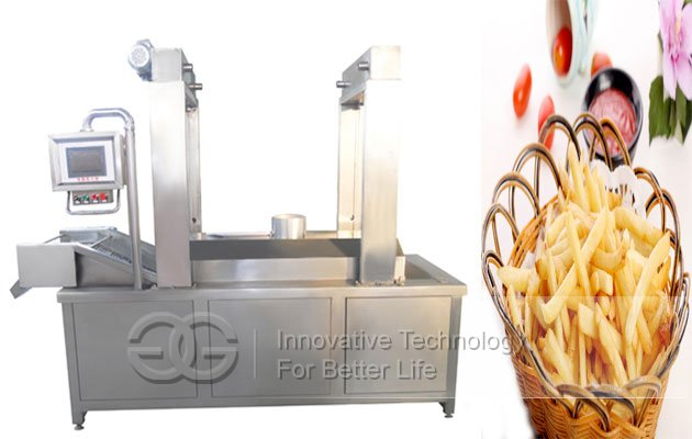 nut frying machine